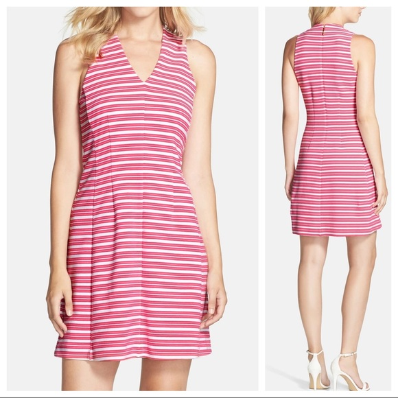 Lilly Pulitzer Dresses & Skirts - Lilly Pulitzer Striped Fit Flare Sleeveless Dress